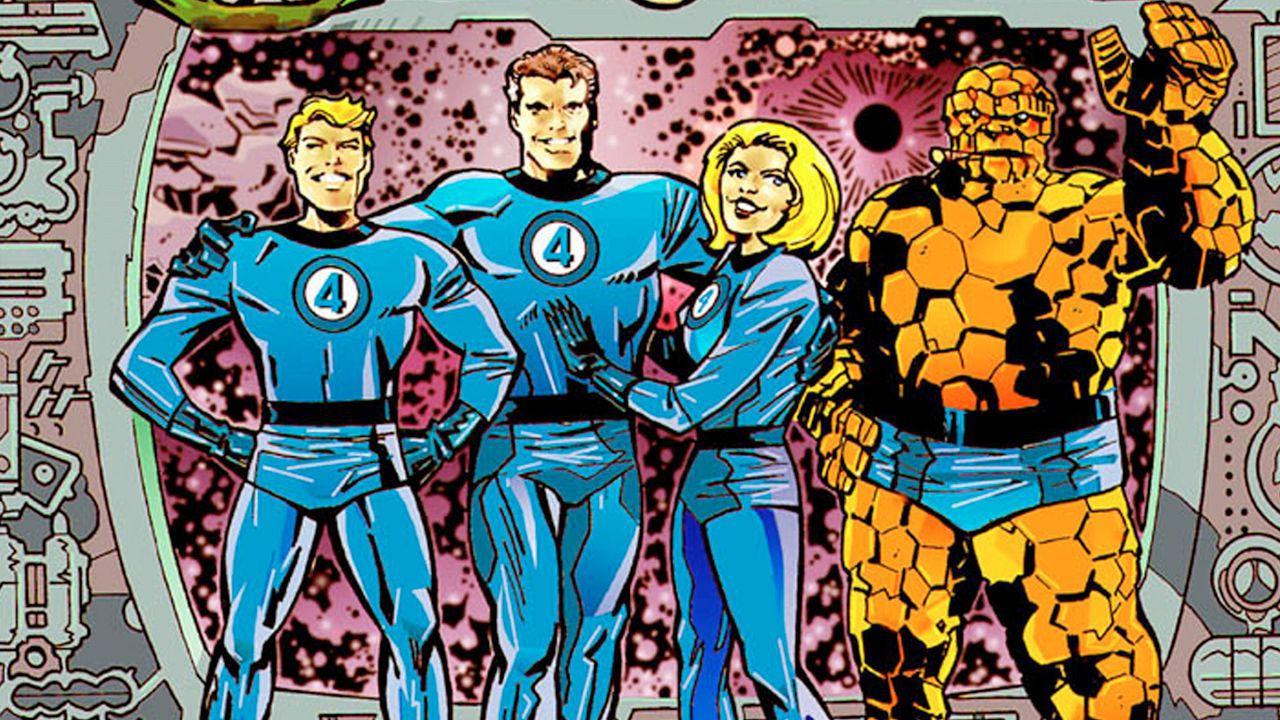 Fantastici Quattro: La Marvel presenta il nuovo look del gruppo