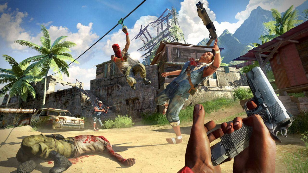 Far Cry 4 - Fortezza di Ratu Gadhi - Gameplay modalita' stealth co-op
