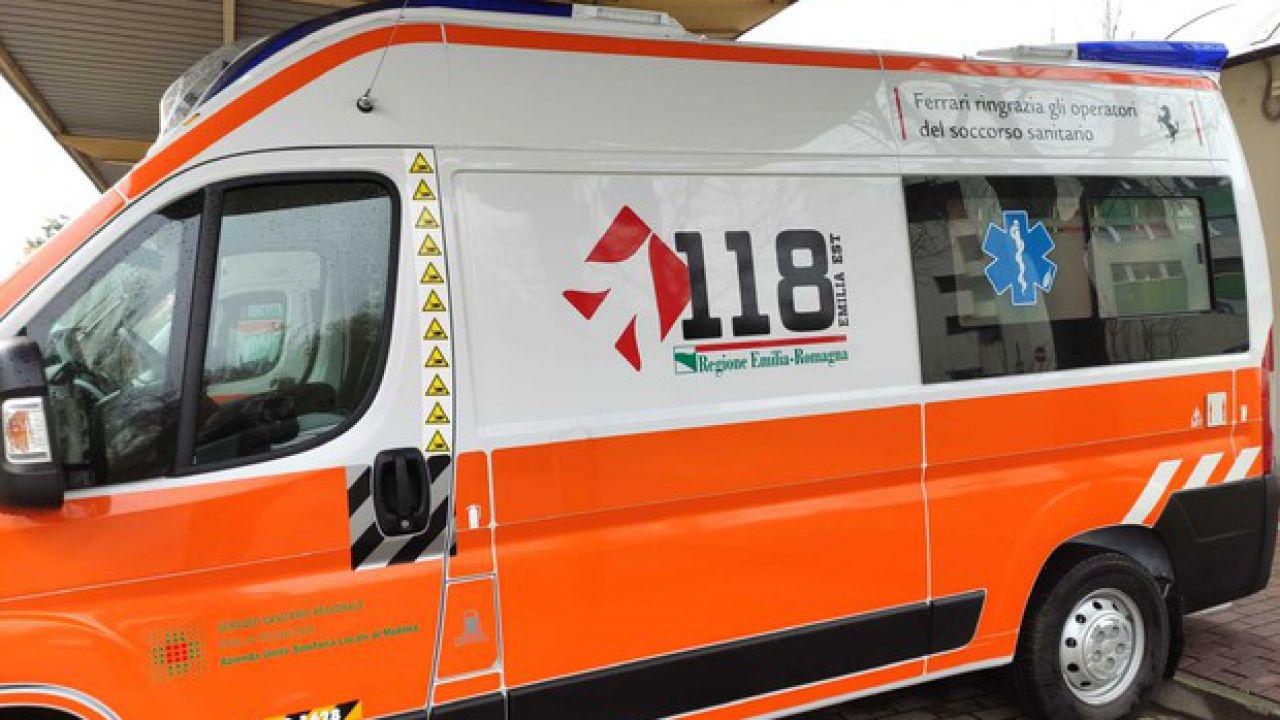 Ferrari ha regalato un'ambulanza 'a prova di Covid-19' al 118 di Modena