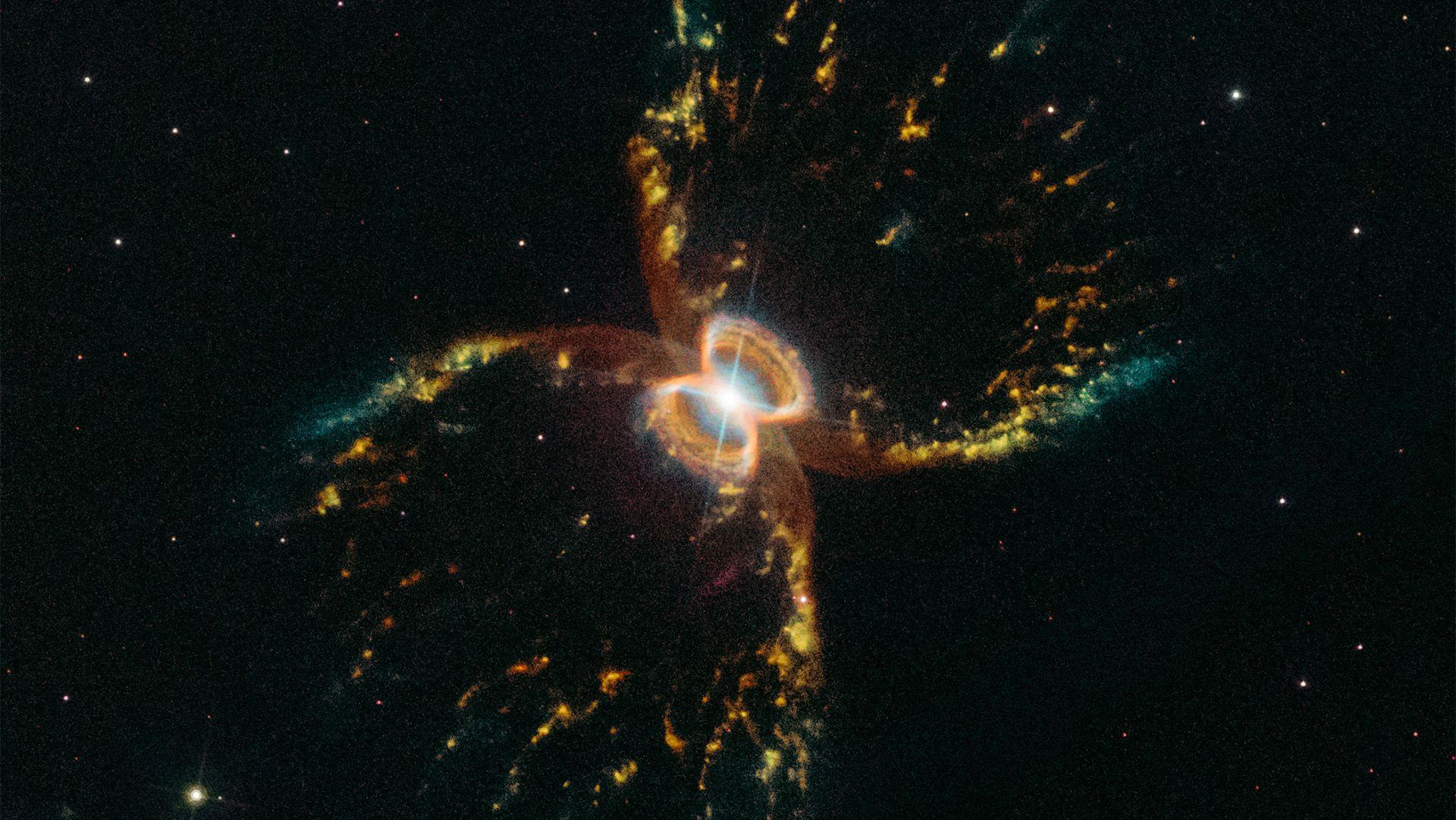 """Festeggiamo il ritorno di Hubble con una delle sue foto più belle: il """"granchio cosmico"""""""