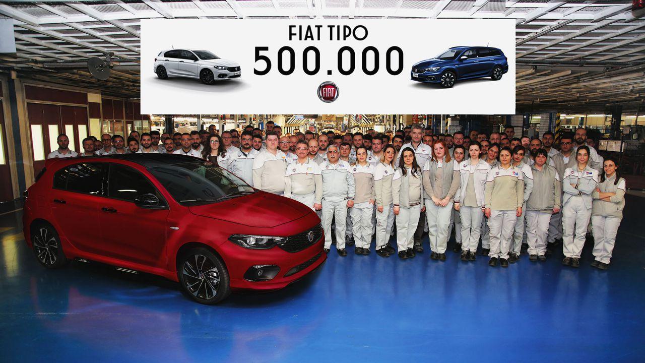 Fiat Tipo festeggia l'unità 500.000, prodotta in Turchia