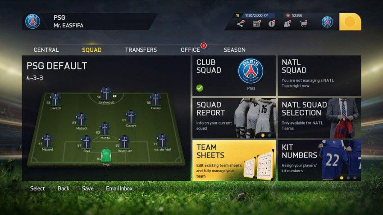 FIFA 15: rilasciate nuove immagini
