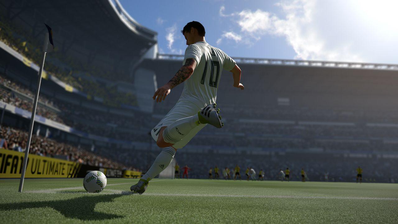 FIFA 17: Trapela sul web un video di gameplay off-screen
