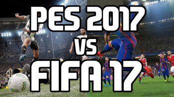 FIFA 17 vs PES 2017: qual è il miglior gioco di calcio dell'anno?