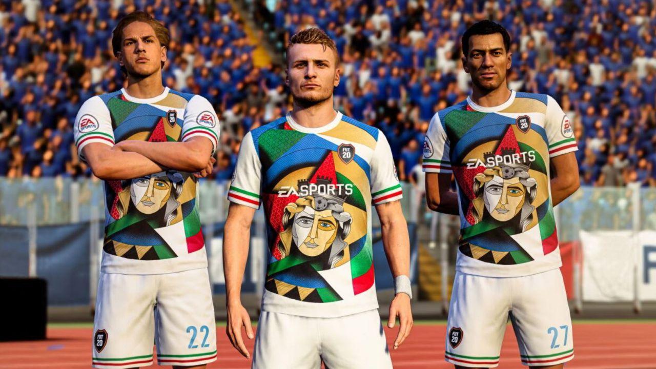 FIFA 20 celebra l'Anniversario dell'Unità d'Italia con una divisa gratis