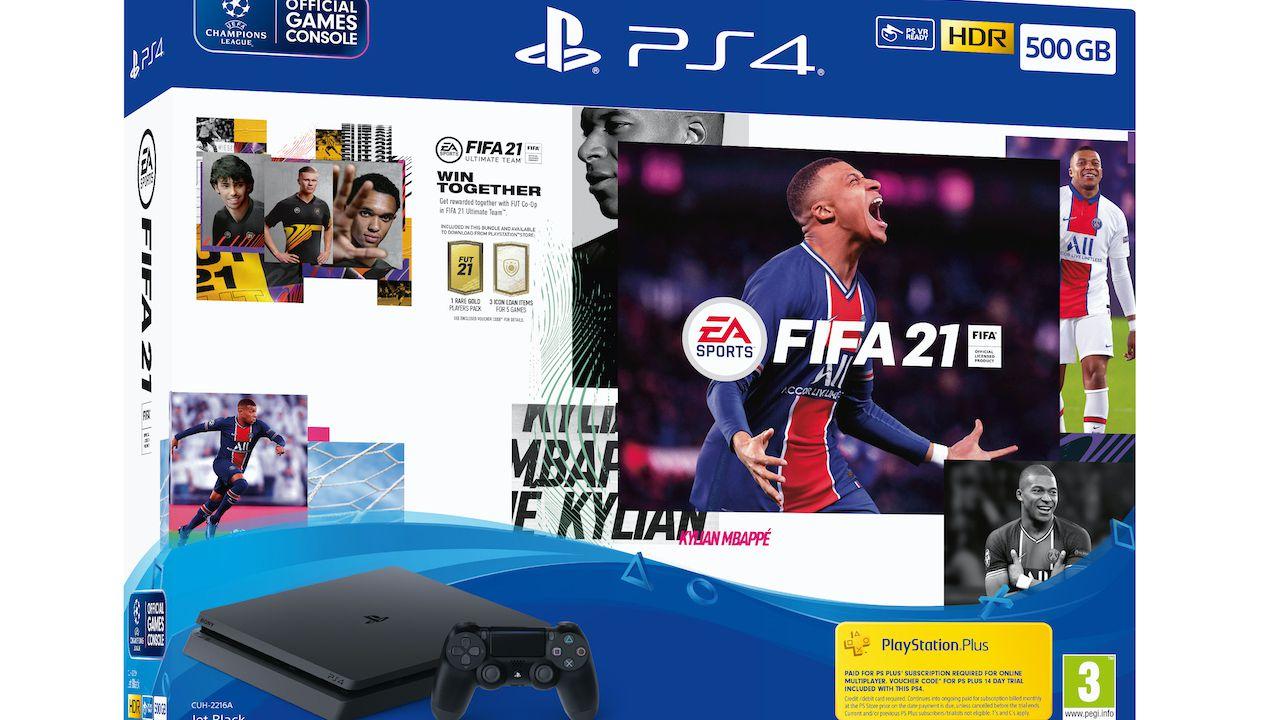 FIFA 21: annunciati i nuovi bundle PS4 e PlayStation 4 PRO