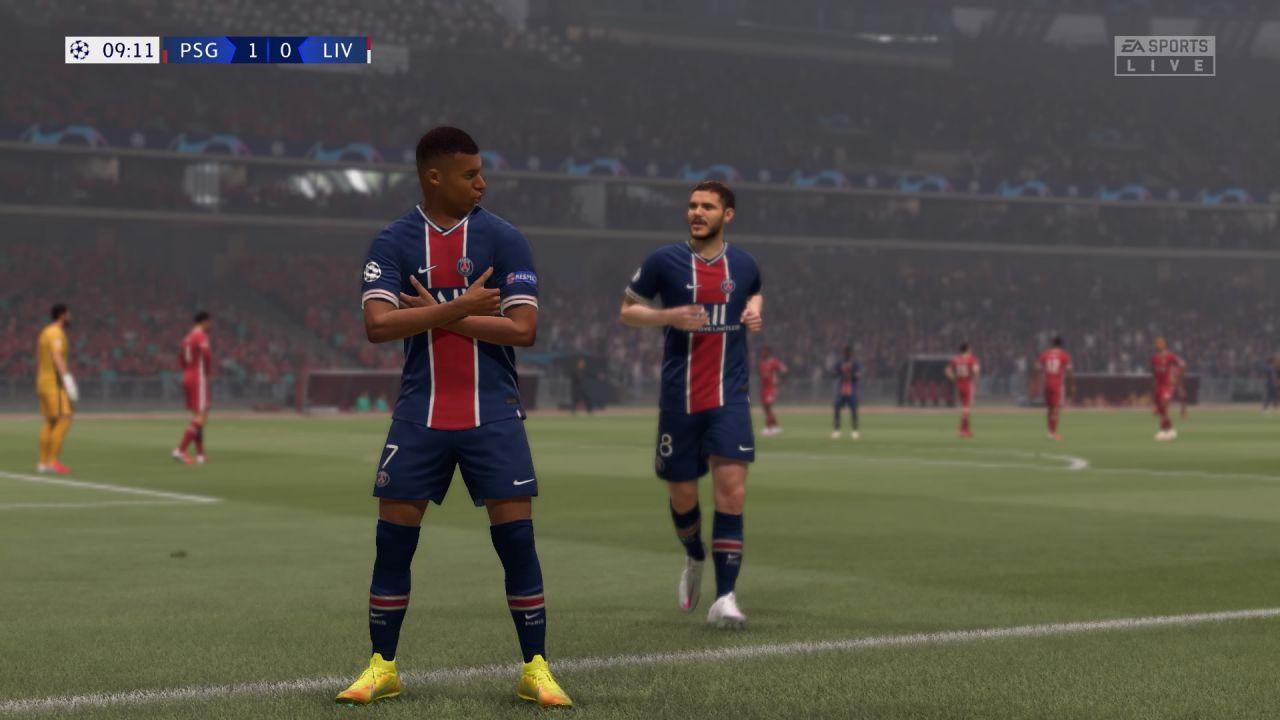 FIFA 21: come disabilitare il segnalino di Cambio Giocatore