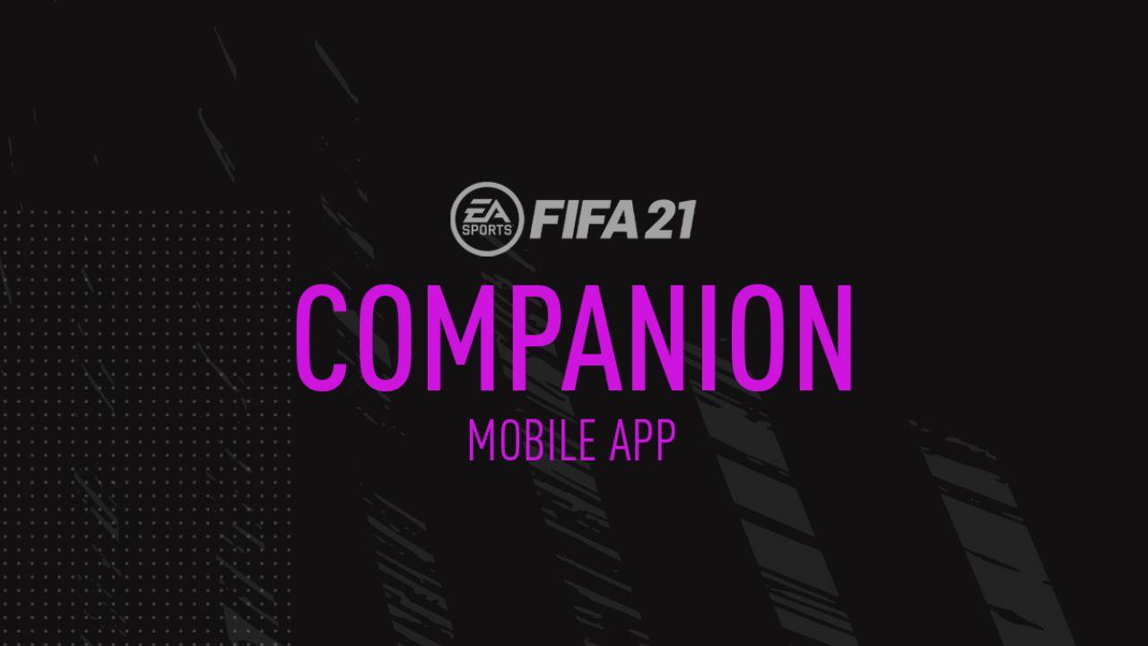 FIFA 21 Companion App download: a cosa serve e come scaricarla