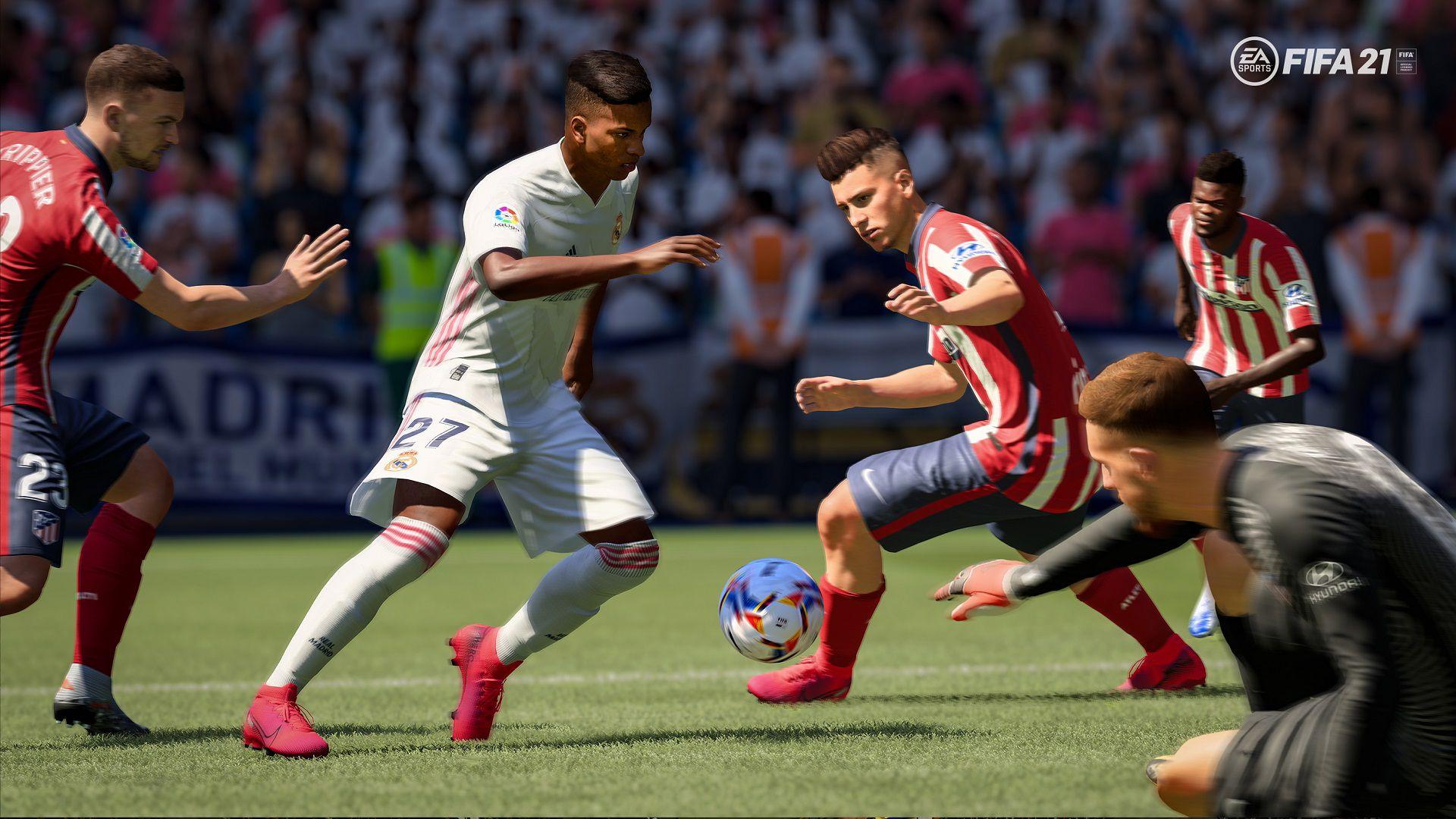 FIFA 21: l'evoluzione di passaggi, dribbling e collisioni ...