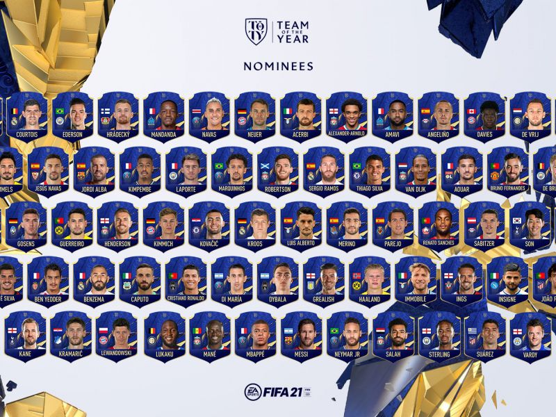 FIFA 21 TOTY: the voting for the Team of the Year, all the candidates, has started