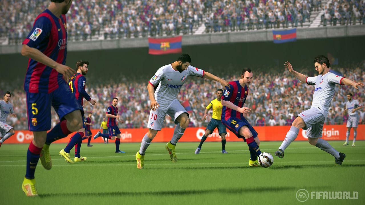 FIFA World presenta un nuovo motore di gioco