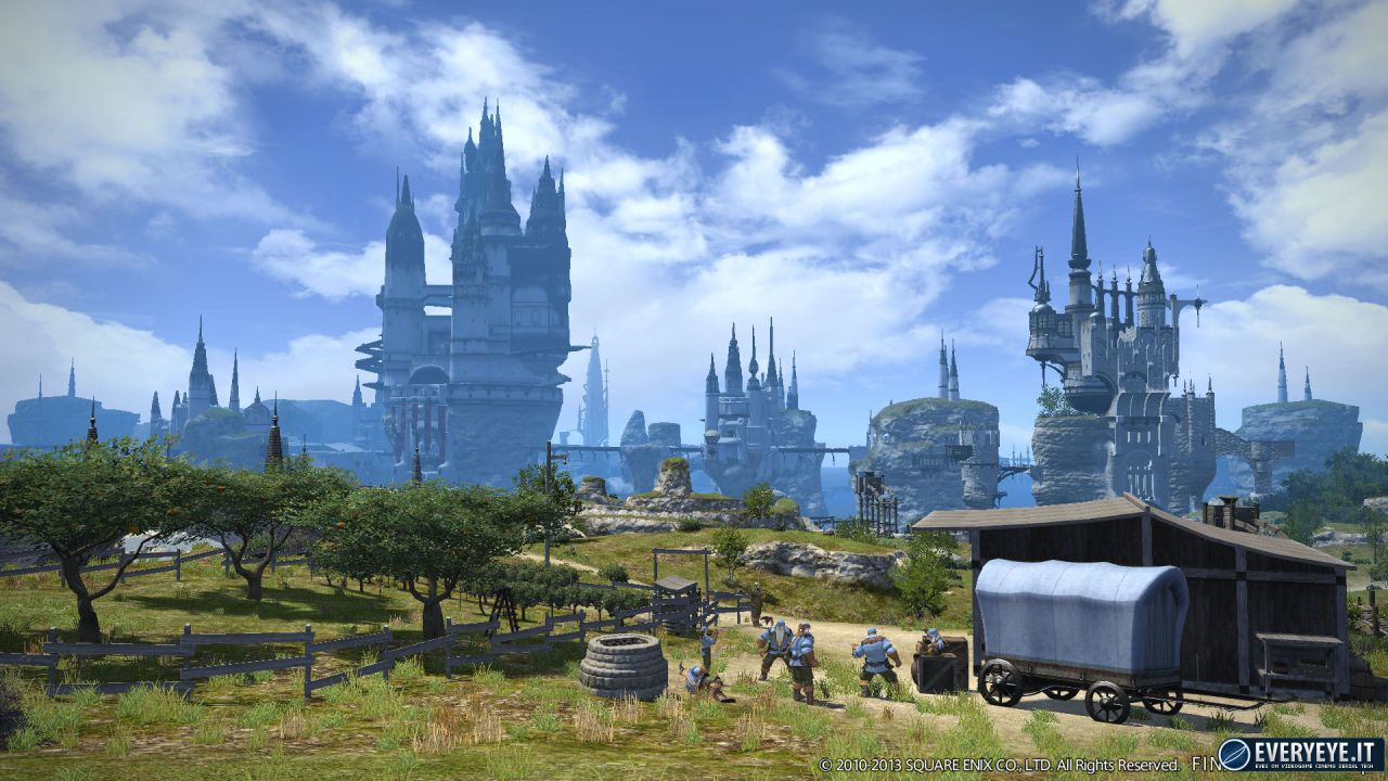 Final Fantasy 14: nuove immagini dalla beta