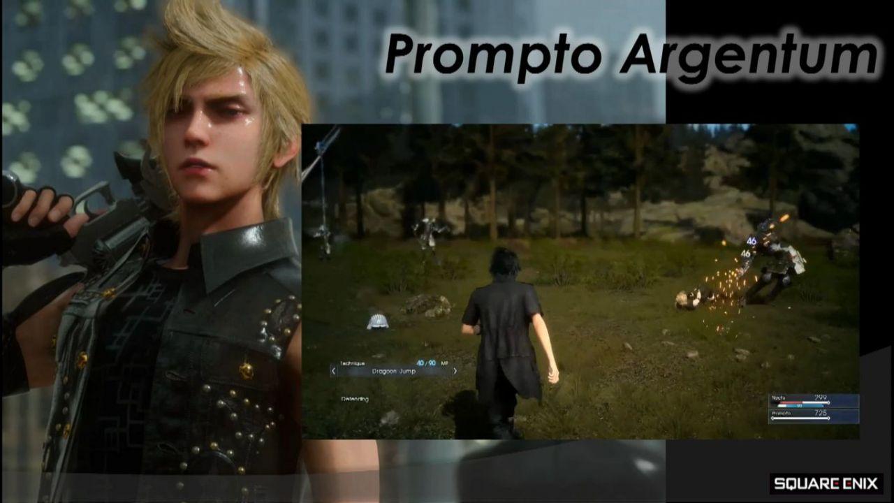 Final Fantasy 15: la demo sarà giocabile al lancio di Final Fantasy Type-0 HD