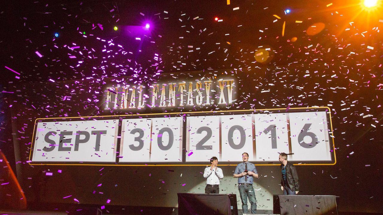 Final Fantasy 15: foto dall'evento di Los Angeles