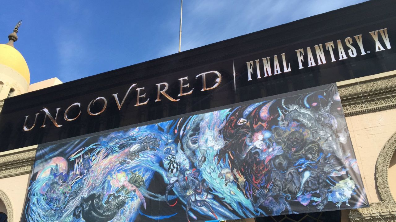 Final Fantasy 15 Uncovered: iniziano i preparativi per allestire lo Shrine Auditorium di Los Angeles
