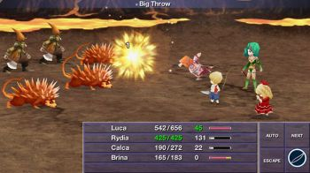 Final Fantasy 4: The After Years - video dal TGS