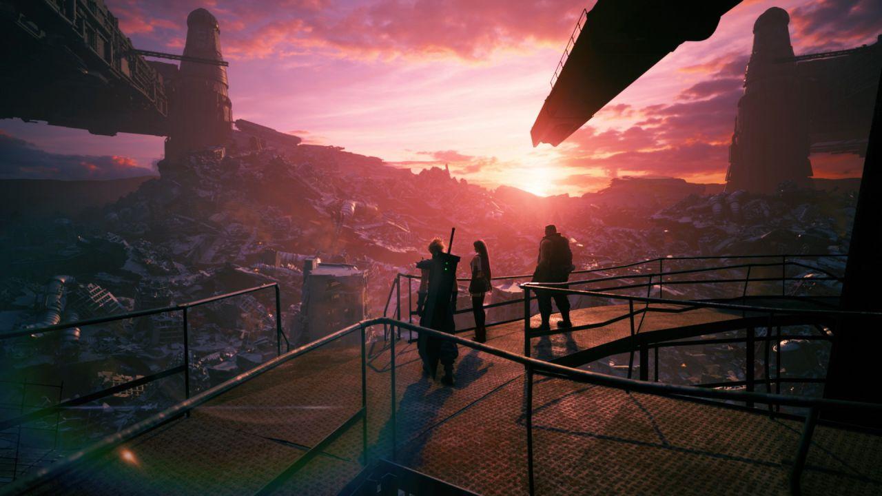 Final Fantasy 7 Remake Intergrade e PS5: un team dedicato solo all'illuminazione