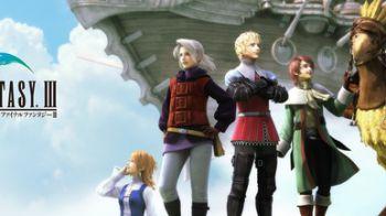 Final Fantasy III: il trailer ufficiale della versione PSP