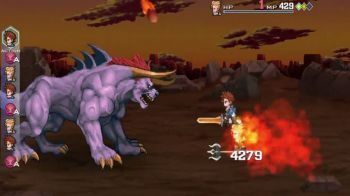 Final Fantasy Legends Space-Time Crystal: trailer di debutto