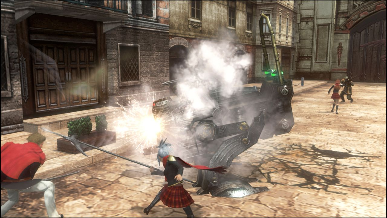 Final Fantasy Type-0 HD, ecco un video gameplay da cinque minuti
