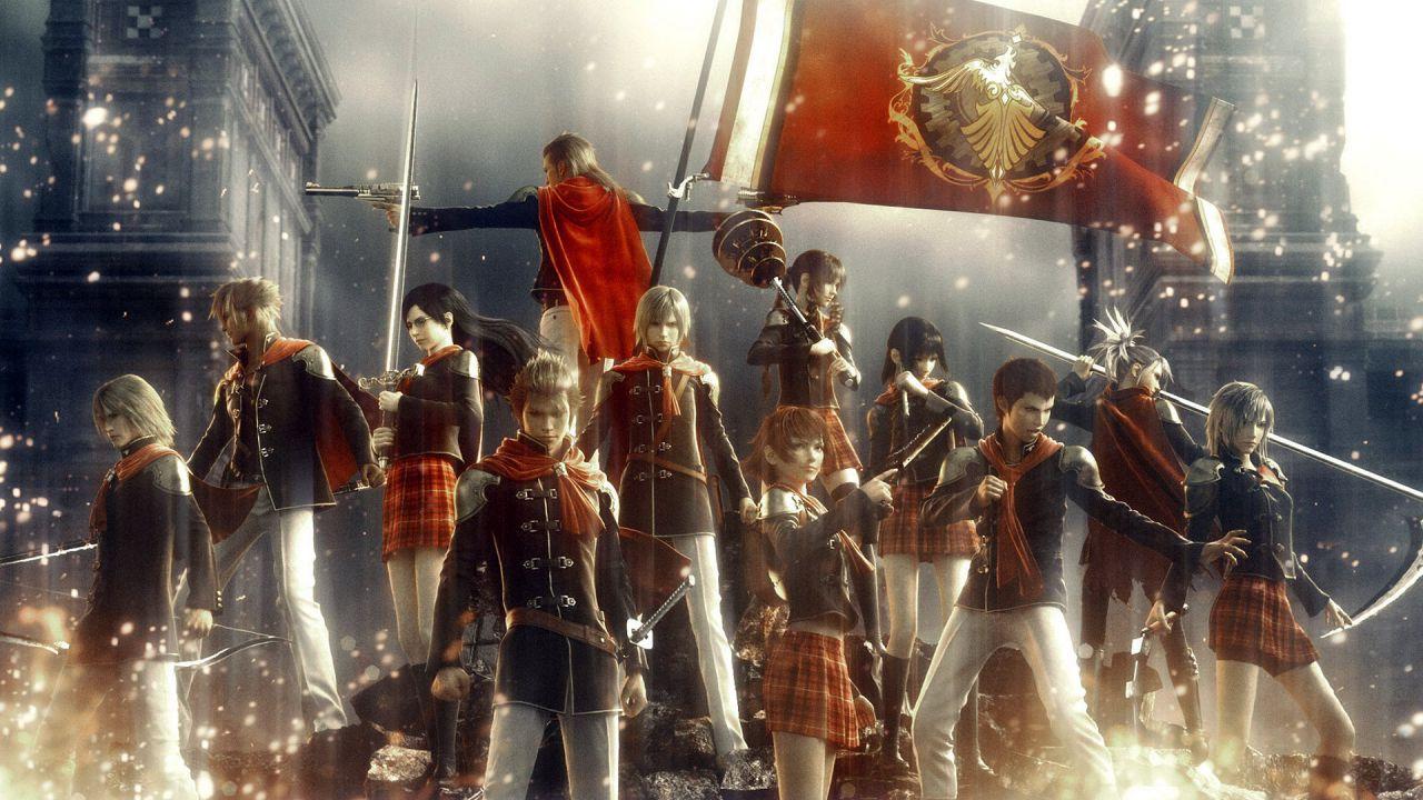 Final Fantasy Type-0 Online: alcuni scatti off-screen al ChinaJoy