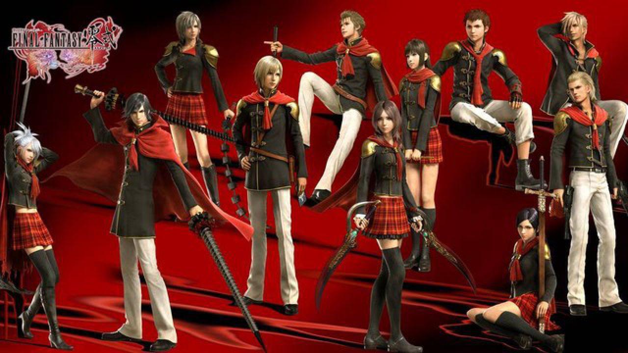 Final Fantasy Type-0: una nuova demo al TGS 2011