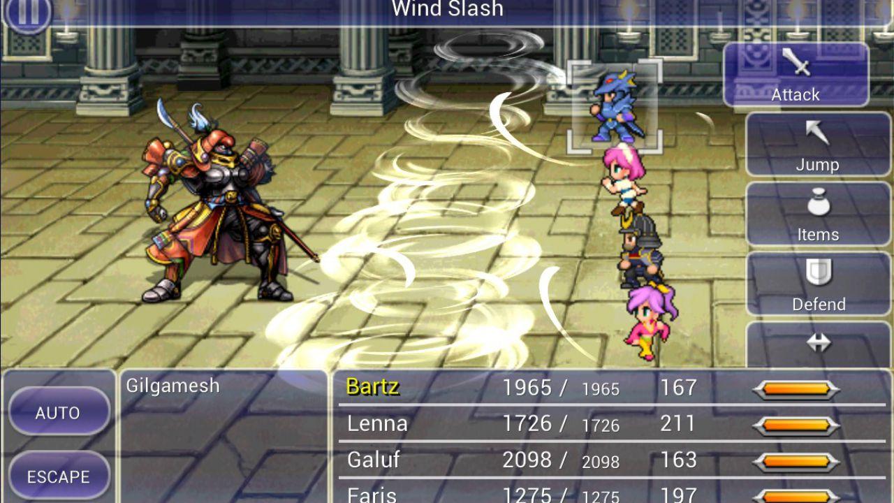 Final Fantasy V disponibile su Amazon App-Shop
