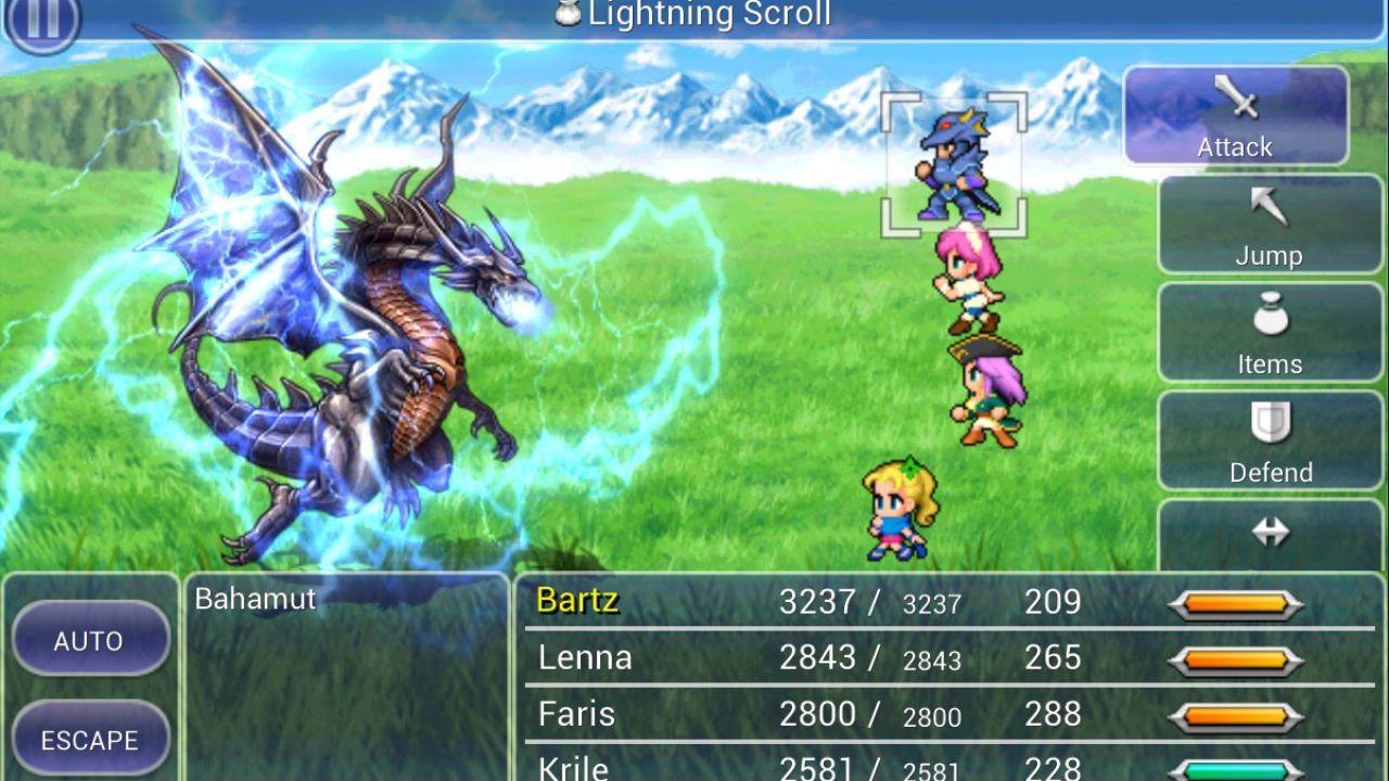 Final Fantasy V disponibile su Android