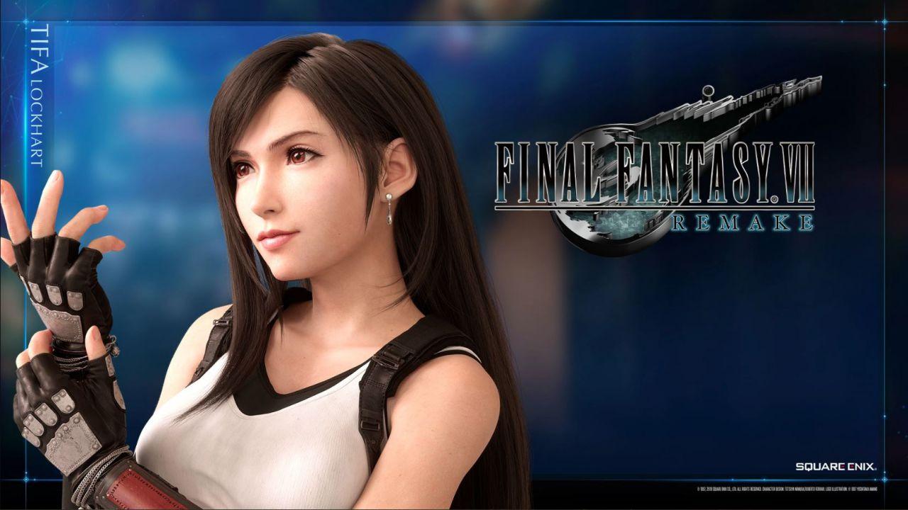 Final Fantasy VII: una Tifa Lockhart sexy da paura nel cosplay dell'italiana Soryu Geggy