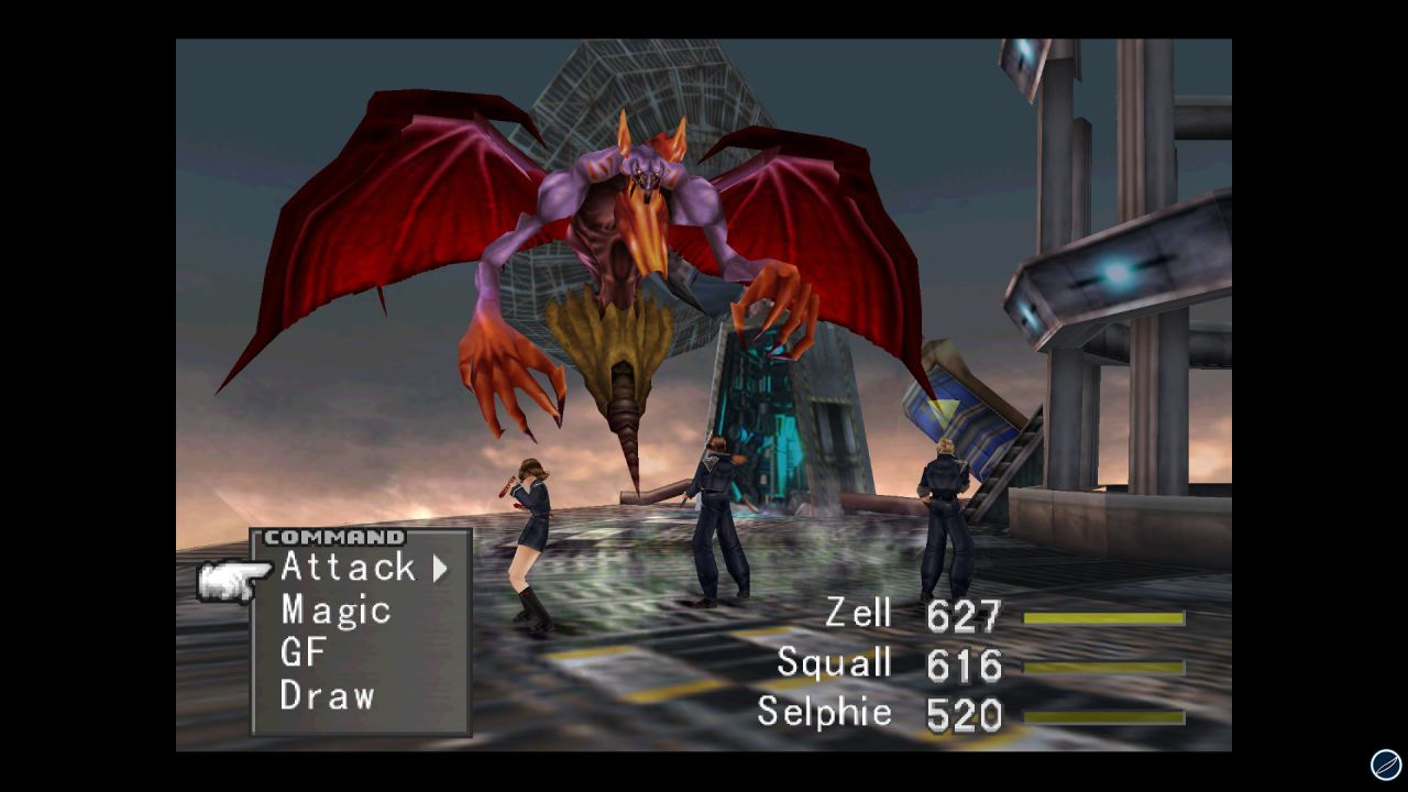 Final Fantasy VIII portato a termine in 11 ore