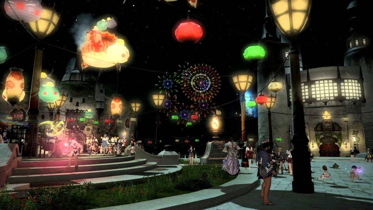 Final Fantasy XIV festeggia l'estate con la Moonfire Faire