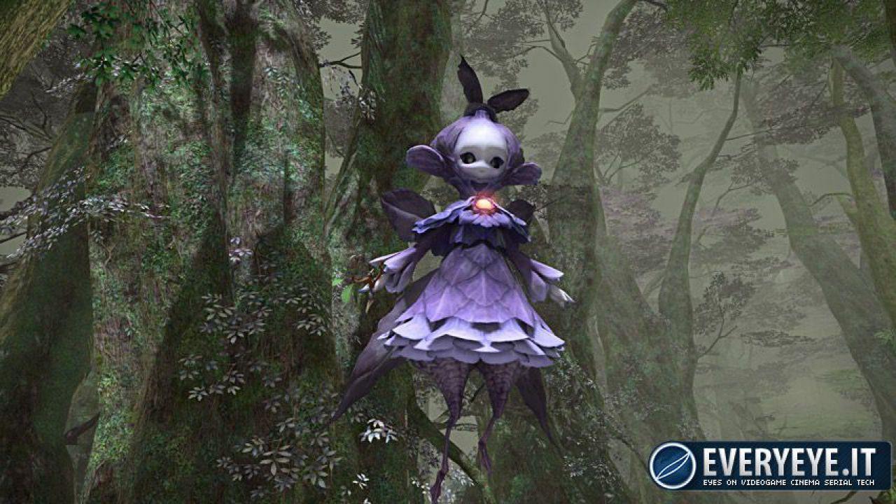 Final Fantasy XIV: immagini dall'editor personaggi