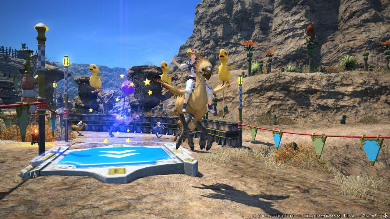 Final Fantasy XIV A Realm Reborn: immagini e concept art dell'espansione Heavensward