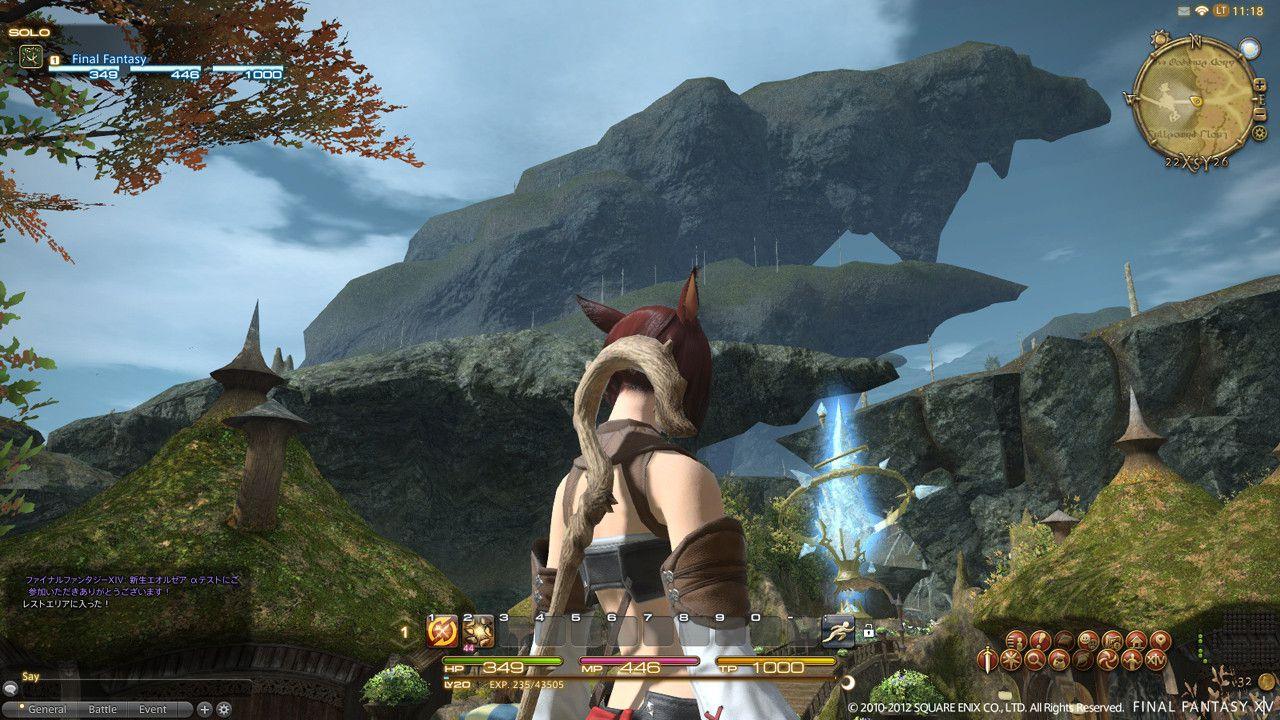 Final Fantasy XIV: A Realm Reborn - immagini dal Remote Play su PSVita