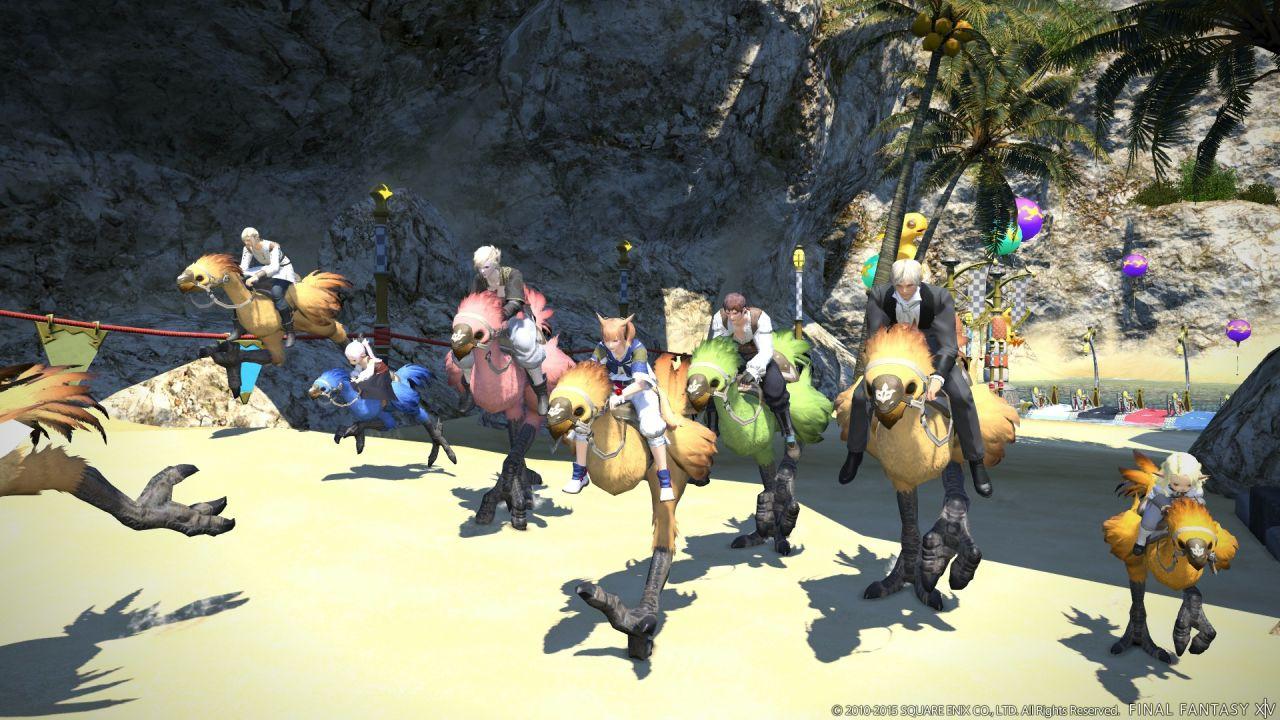 Final Fantasy XIV A Realm Reborn: nuove immagini per l'aggiornamento 2.4