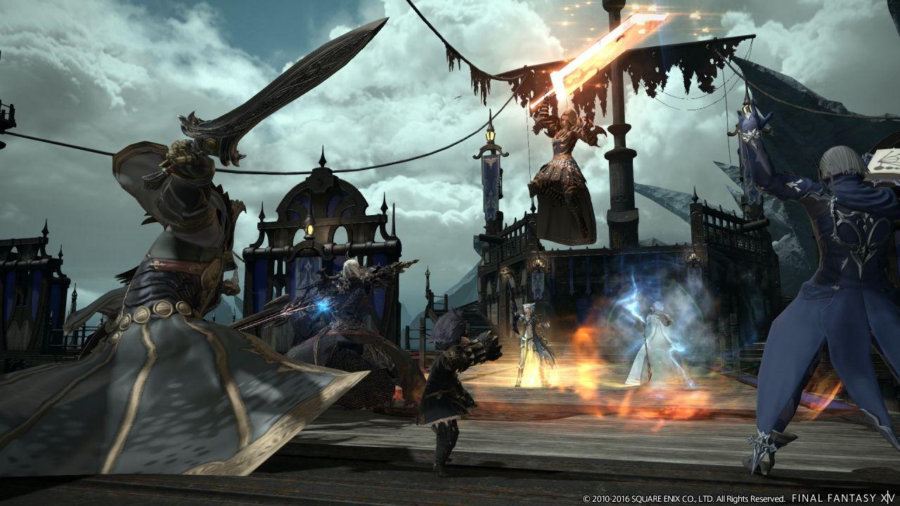 Final Fantasy XIV A Realm Reborn: nuovi screenshot presentano The Feast