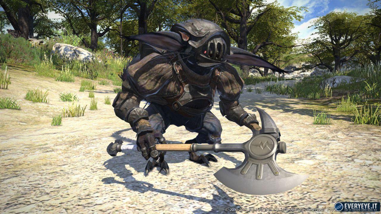 Final Fantasy XIV A Realm Reborn: svelato il peso delle versioni console dell'espansione Heavensward