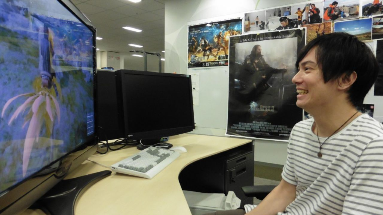Final Fantasy XV: il doppiatore di Noctis visita gli studi di Square Enix e prova il gioco