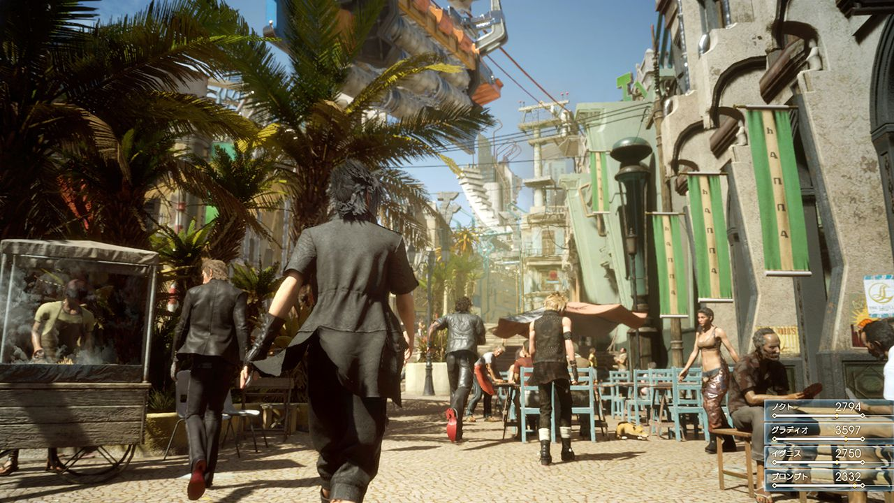 Final Fantasy XV, due nuovi video off-screen da Parigi mostrano le ambientazioni