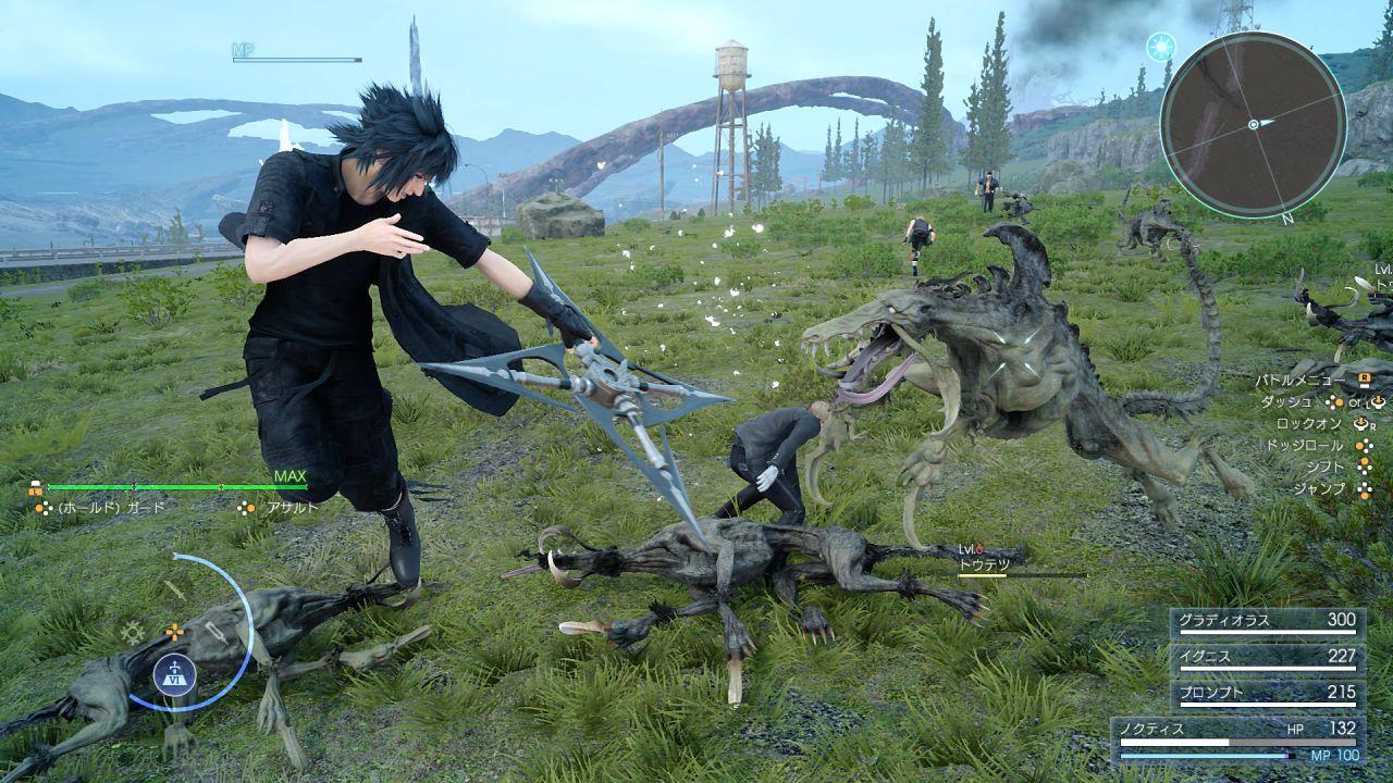 Final Fantasy XV è in fase 'Data Lock'