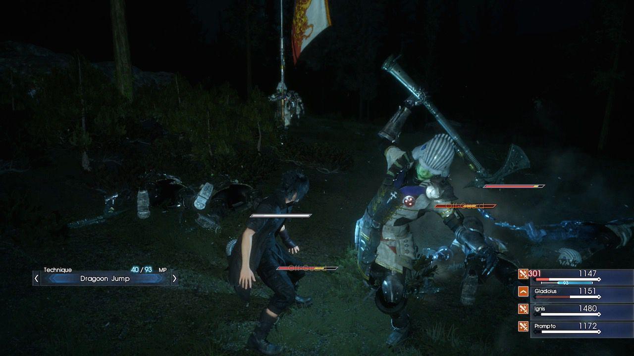 Final Fantasy XV è in una fase avanzata di sviluppo
