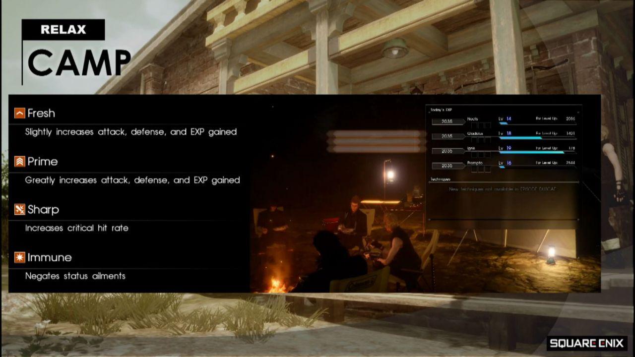 Final Fantasy XV: nuove informazioni sulla demo