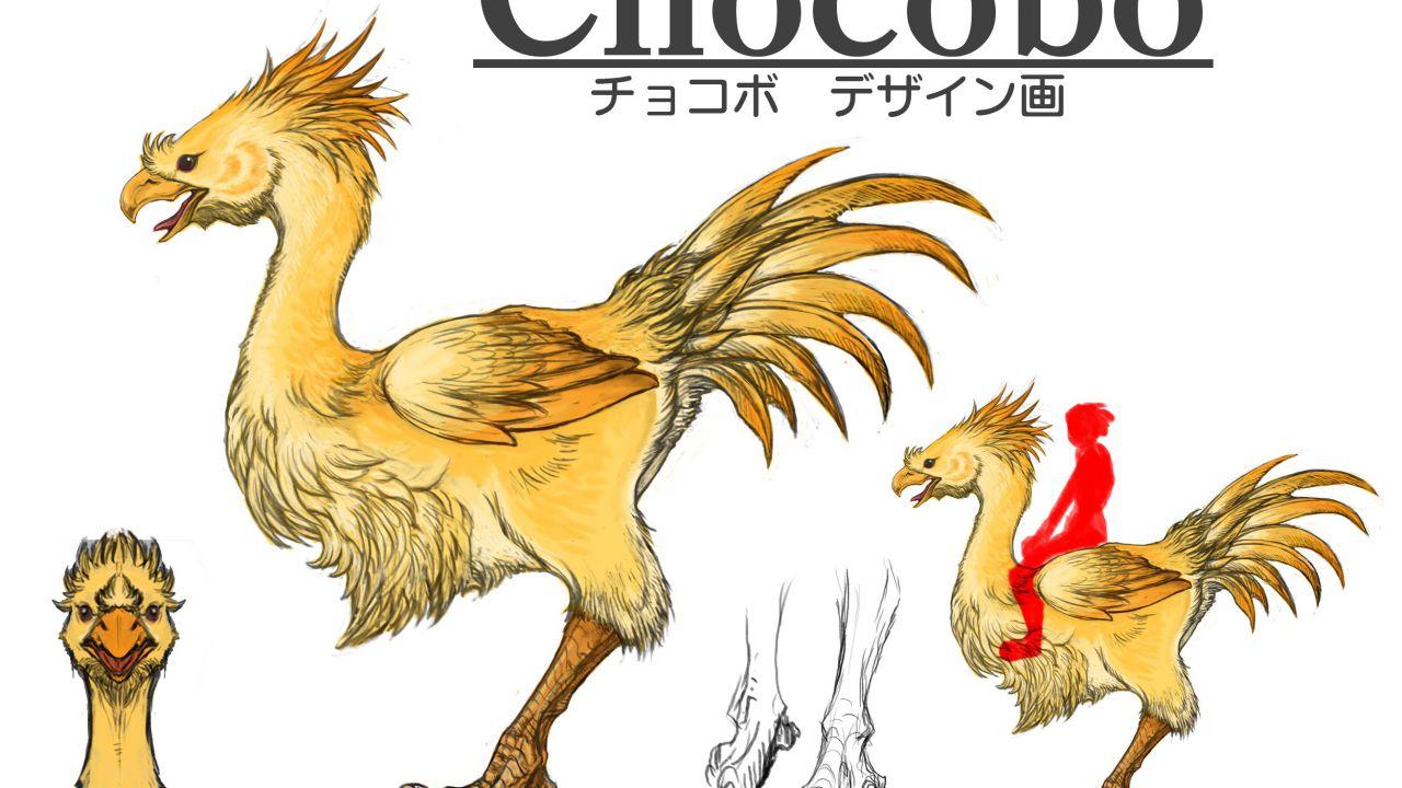 Final Fantasy XV: nuovi artwork mostrano il Chocobo giallo battere quello nero