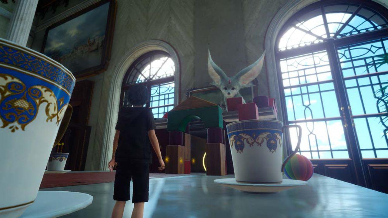 Final Fantasy XV: Platinum Demo girava su PC durante l'evento Uncovered?