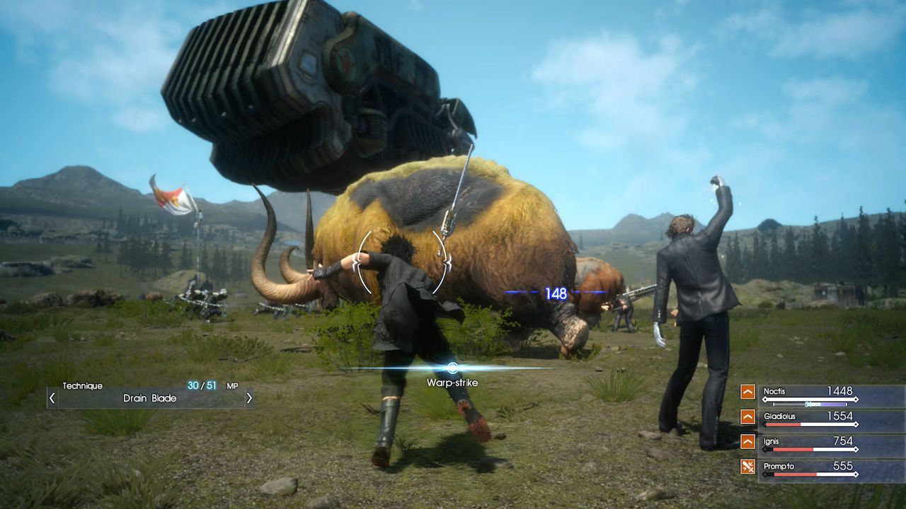 Final Fantasy XV sarà una parte di una storia più vasta