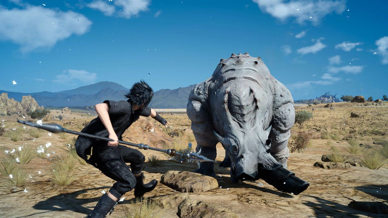 Final Fantasy XV: screenshot dall'E3