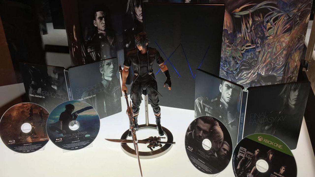 Final Fantasy XV Ultimate Collector's Edition è già sold out in Europa