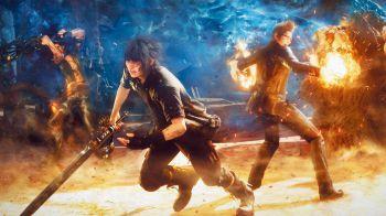 Final Fantasy XV: un video dal TGS 2016 ci mostra il titolo in azione su PS4 Pro
