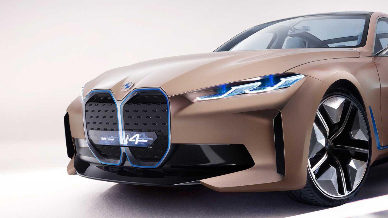 Finalmente rivelata la BMW i4: enorme griglia, tanta potenza e ottima autonomia