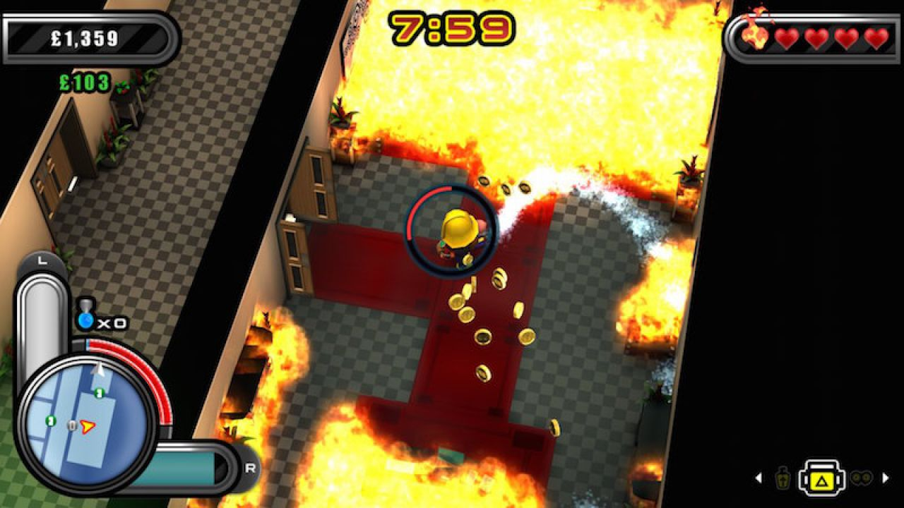 Flame Over sarà disponibile su PlayStation Store dall'11 marzo